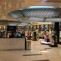 Abu Dhabi Airport T3 Retail Area