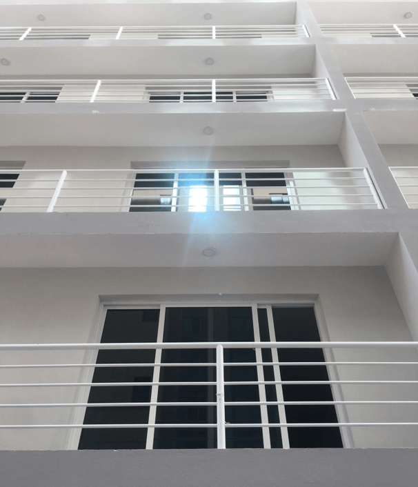 Exterior Windows Doors and Rails