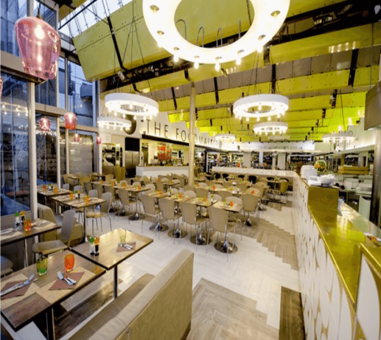 Harvey Nichols Food Courts Knightsbridge London