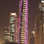 Ocean Heights Dubai at Night