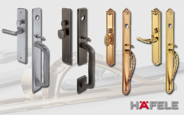 Hafele door furniture and ironmongery